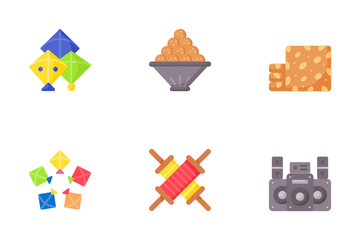 Makar Sankranti Icon Pack