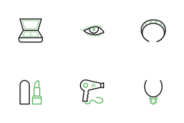 Makeup And Accessories  Icon Pack