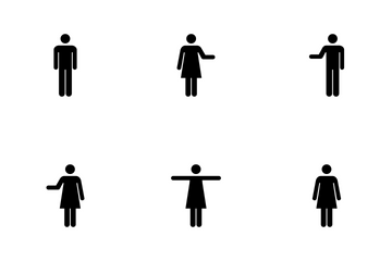 Male And Female Symbols Icon Pack