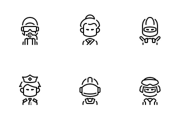 Male Avatar Icon Pack