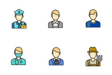 Male Profession Icon Pack