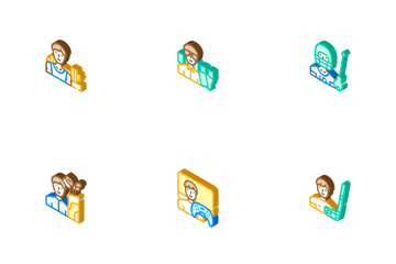 Male Sport Activities Icon Pack