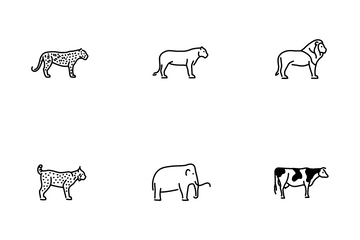 Mammal Vol 1 Icon Pack