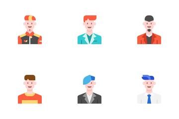 Man Avatar01 Icon Pack