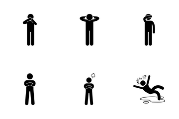 Man Feelings Icon Pack