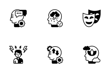 Managerial Psychology Icon Pack