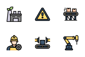 Manufacturing Icon Pack