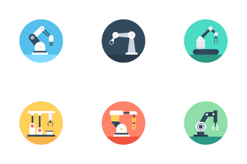 Manufacturing And Production Icon Pack