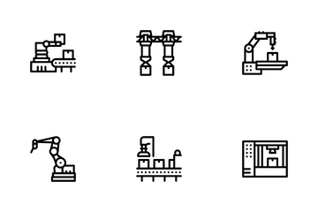 Manufacturing Process Icon Pack