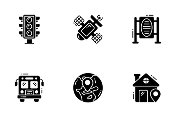 Map And Navigation Icon Pack
