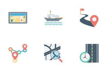 Map And Navigation Vol 1 Icon Pack
