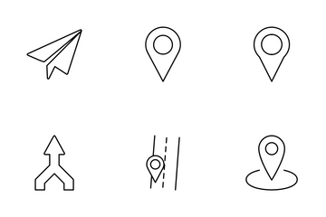 Map Location Icon Pack