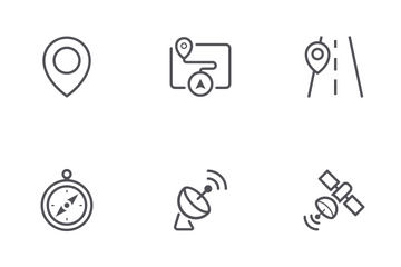 Map & Navigation Icon Pack