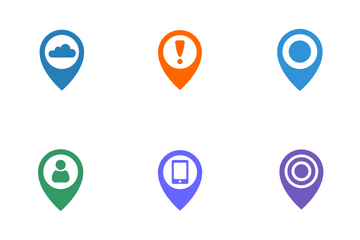 Map Objects  Icon Pack