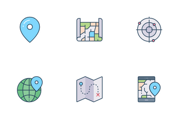 Map UI Icon Pack