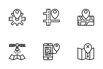Maps Icon Pack