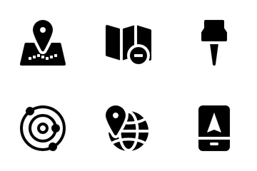 Maps And Locations Icon Pack