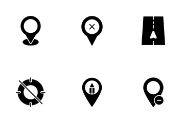 Maps And Locations Vol 1 Icon Pack