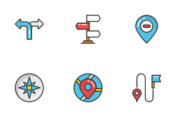 Maps And Navigation 1 Icon Pack