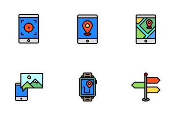 Maps And Navigation Icon Pack