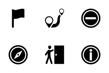 Maps And Navigation Vector Icon Icon Pack