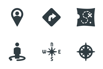 Maps Locations Icon Pack