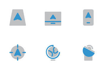 Maps & Navigation Icon Pack