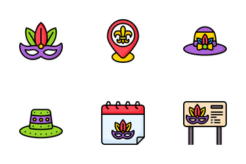 Mardi Gras Icon Pack