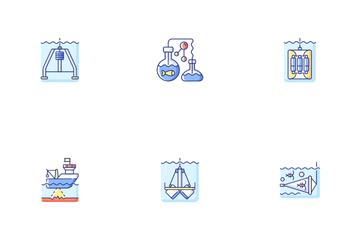 Marine Exploration Icon Pack