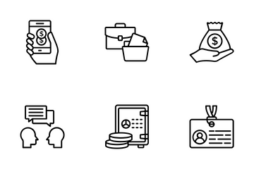 Market And Economy Icon Pack