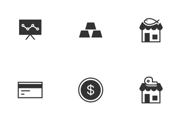 Market And Finance Icon Pack