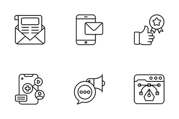 Marketing & Advertising Icon Pack