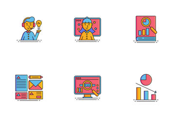 Marketing Agency Icon Pack