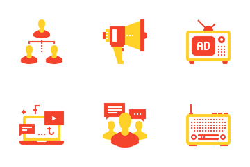 Marketing And Advertising Icon Pack