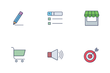 Marketing And Campaign Vol 1 Icon Pack