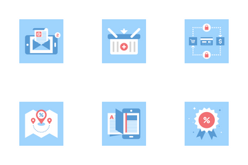 Marketing And Commerce Icon Pack