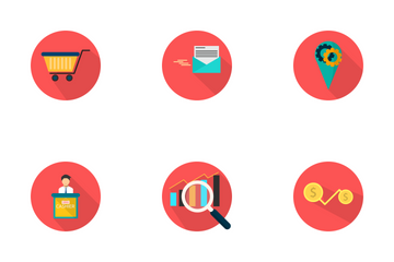 Marketing And Management Icon Icon Pack