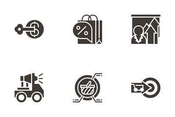 Marketing Elements Icon Pack