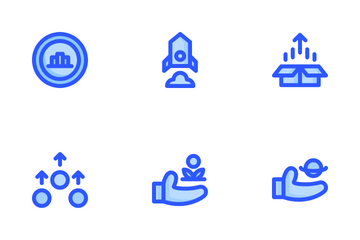 Marketing Growth Icon Pack