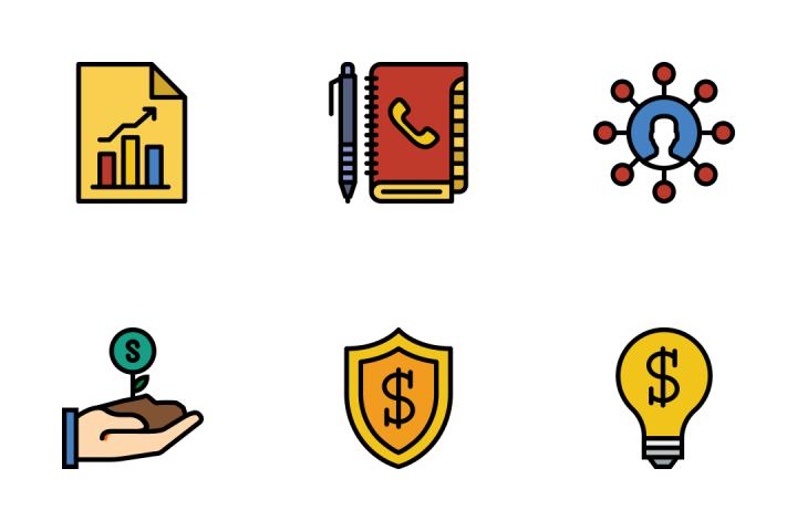 Marketing - Retro Icon Pack