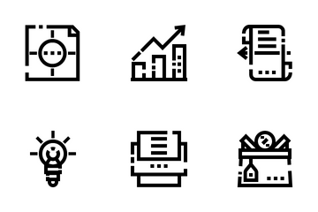 Marketing  & Seo Icon Pack