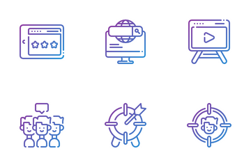 Marketing And Seo Icon Pack