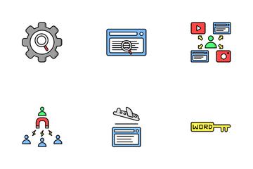 Marketing & SEO Icon Pack