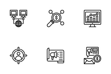 Marketing Seo Icon Pack