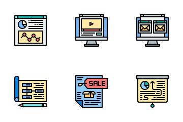 Marketing Strategy Icon Pack