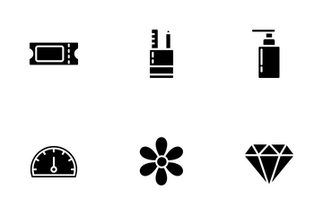 Marketplace Product Categories (Solid) Vol.1 Icon Pack