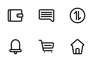 Marketplace User Interface (Line) Vol.1 Icon Pack