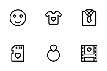 Marriage & Anniversary Vol 2 Icon Pack