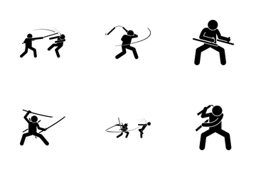 Martial Arts Icon Pack
