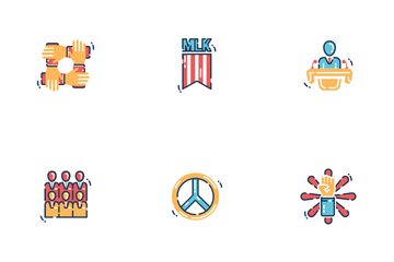 MARTIN LUTHER KING JR DAY Icon Pack